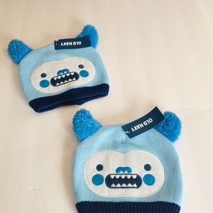 Baby Infant Monster winter hat 0-6 months
